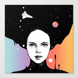 If You Were My Universe Canvas Print