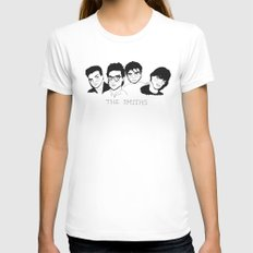 The Smiths Womens Fitted Tee LARGE White