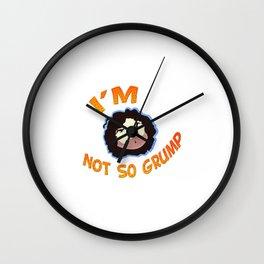 Grump Wall Clock