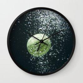 Cosmic Fruit: Watermelon Wall Clock
