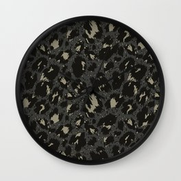 army pattern Wall Clock