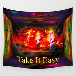 Heavenly apparition  - Take It Easy Wall Tapestry