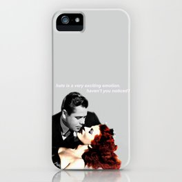 #1: HATE iPhone Case