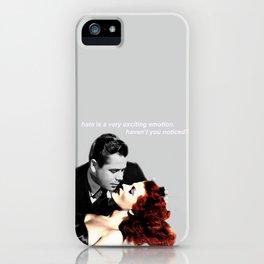 #1: HATE iPhone Case