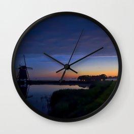 Windmill Pond Wall Clock