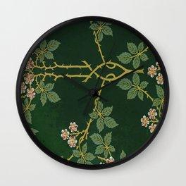 Art work of William Morris Wall Clock