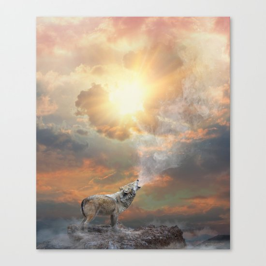 Climb Mountains Not So the World Can See Canvas Print
