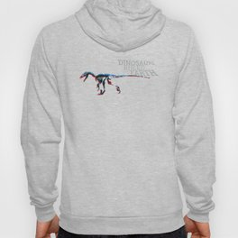 When Dinosaurs Ruled The Earth - Deinonichus Hoody