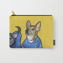 Winston and Chloe the Chihuahuas Carry-All Pouch
