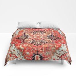 Heriz Azerbaijan Northwest Persian Rug Print Comforters