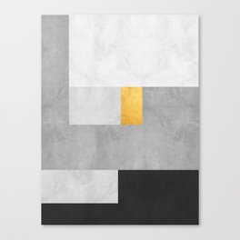 Gold Composition XVIII Canvas Print