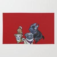 nemo Area & Throw Rugs featuring Phoebe Nemo & Stark by Pawblo Picasso