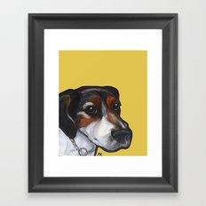 Milo the Jack Russell Terrier Framed Art Print