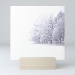 White Forest Mini Art Print