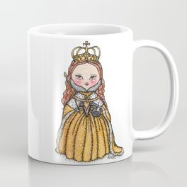 Queen Elizabeth I of England Coronation Coffee Mug
