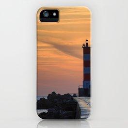 Light House at Port la Nouvelle South France iPhone Case