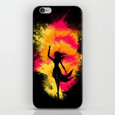 Typical Explosion Scene iPhone & iPod Skin