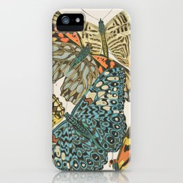 Butterfly Scientific Illustration by E.A. Seguy, 1925 #12 iPhone Case