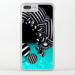 going mandelbrot -5- Clear iPhone Case