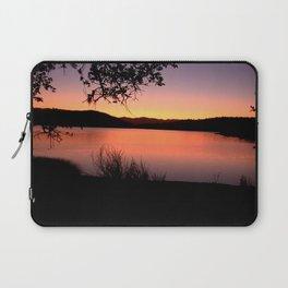 LAKE HENNESSEY - NAPA CALIFORNIA - SUNSET REFLECTION Laptop Sleeve