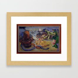 """Three Worlds: Middle Manifestation"" Framed Art Print"