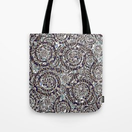 Year of the Snake mosaic Tote Bag