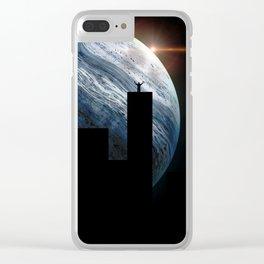 King of Buildings by GEN Z Clear iPhone Case