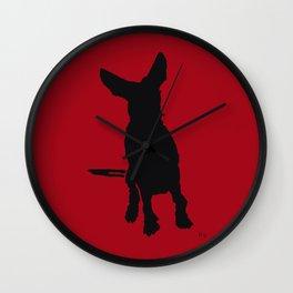 Lajka Podenco 11 Wall Clock