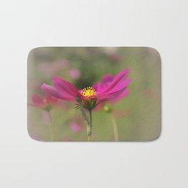 Cosmos Commuter - Flower Photography Bath Mat