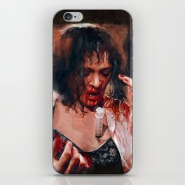 Adrenaline Shot - Mia Wallace - Pulp Fiction iPhone Skin