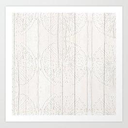 Wood Limes Art Print