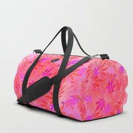 Blush Cannabis Swirl Duffle Bag