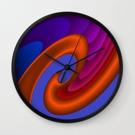 sweeping lines for your home -7- Wall Clock