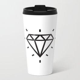 Diamond Tattoo Metal Travel Mug