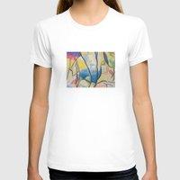 kandinsky T-shirts featuring Figure Dance by Lindsay Larremore Craige