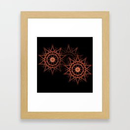 Star Group Framed Art Print