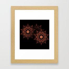Star Group Framed Art Print