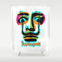Hallucinate Dali Shower Curtain