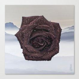 MISTY ROSE Canvas Print