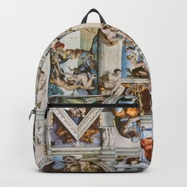 Sistine Chapel Ceiling Michelangelo Backpack