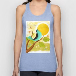 Early To Rise Unisex Tank Top