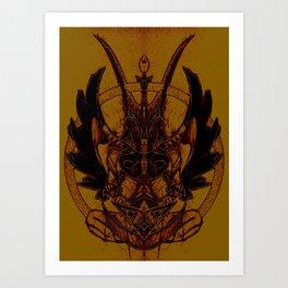 Samael Art Print