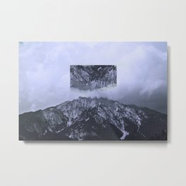 Reverse Mountain Metal Print