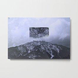 Reverse Mountain Metal Print