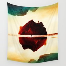 Isolation Island Wall Tapestry