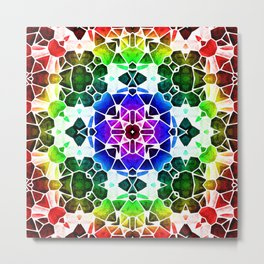 Kaleidoscop Metal Print