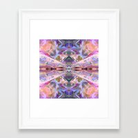 ethnic Framed Art Prints featuring Ethnic by Assiyam