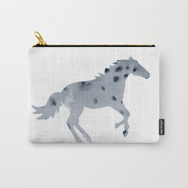 Beautiful watercolor horse silhouette Carry-All Pouch