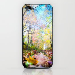 Amongst the Leaves iPhone Skin