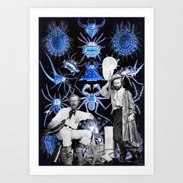 Haeckel's Cure for Arachnophobia Art Print